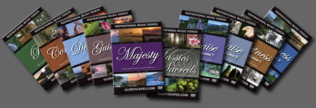 Get 9 Year 'Round GloryScapes DVD Videos!